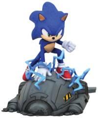 Sonic The Hedgehog Movie Gallery - Sonic PVC Statue
