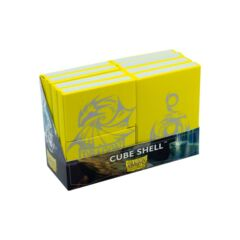 Dragon Shield - Cube Shell - Yellow 8 ct
