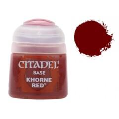Citadel Base Khorne Red 12ml