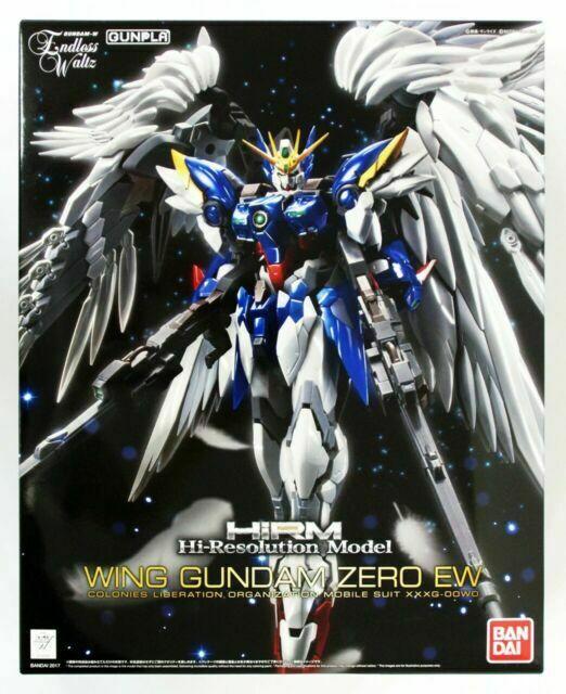 Gundam Hi-Resolution Wing Gundam Zero EW 1/100 Model Kit