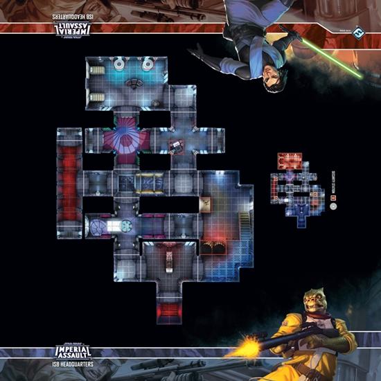Star Wars Imperial Assault: Skirmish Map- ISB Headquarters