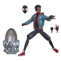 Marvel Legends - Spider-Man Into The Spider-Verse - Miles Morales Action Figure (Stilt Man BAF)