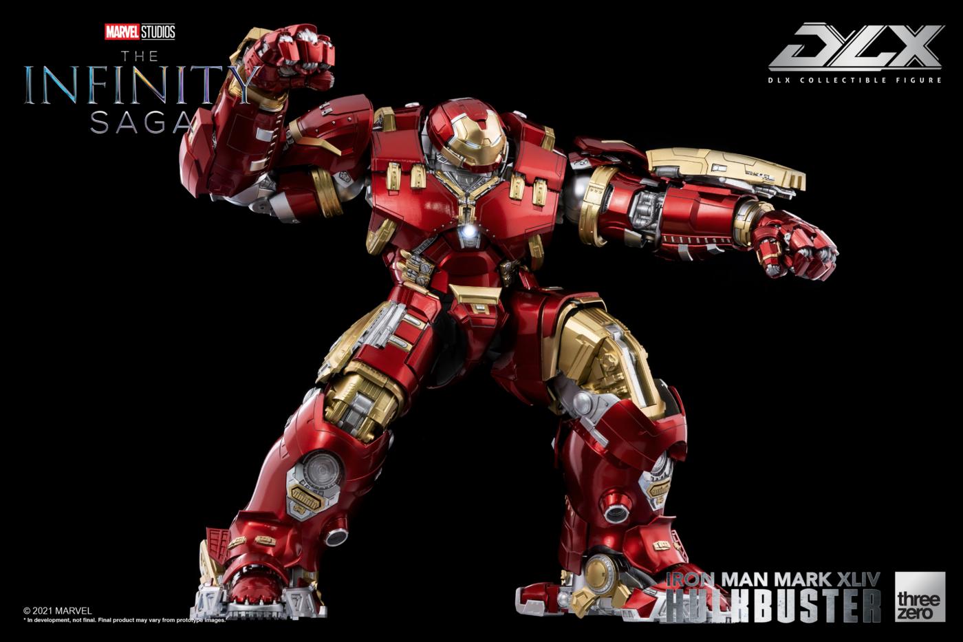 Marvel - The Infinity Saga - Iron Man MK44 Hulkbuster Deluxe 1/12 Scale Action Figure