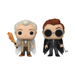Pop! Good Omens Special Series - Aziraphale & Crowly with Wings 2 Pack Vinyl Fig