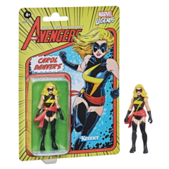 Marvel Retro Legends - Ms Marvel 3.75inch Action Figure