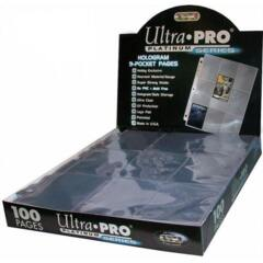 Ultra Pro - 9 Pocket Pages 100 count