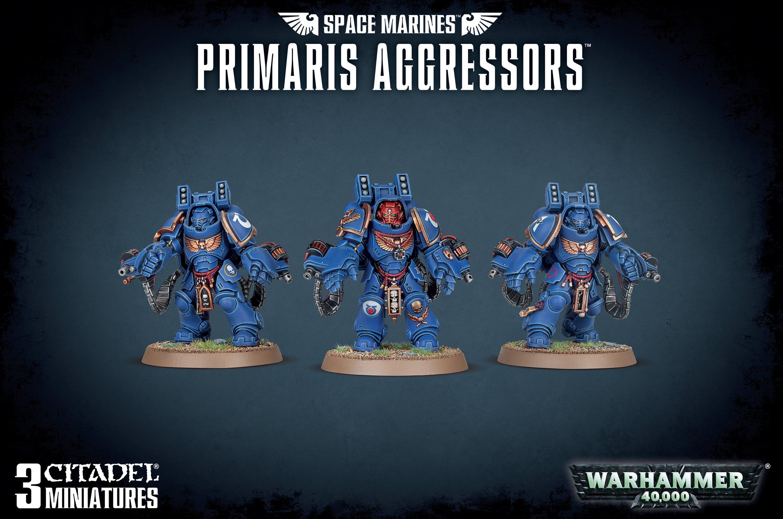 Space Marines - Primaris Aggressors