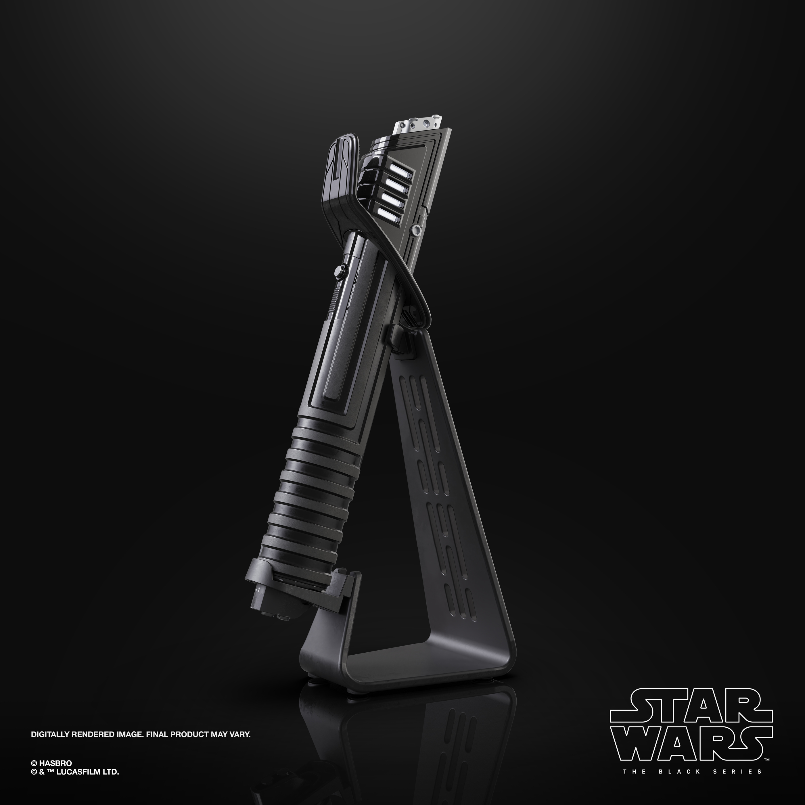 Star Wars The Black Series - The Mandalorian - Mandalorian Darksaber Force FX Elite Lightsaber