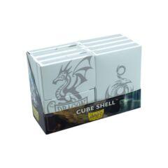Dragon Shield - Cube Shell - White 8 ct