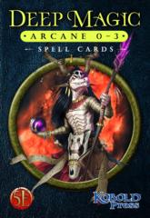 Deep Magic - Arcane 0-3 Spell Cards