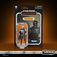 Star Wars - The Vintage Collection - The Mandalorian - Beskar Armor Mandalorian 3.75inch Action Figure