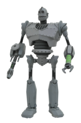 Iron Giant Battle Mode Action Figure (Diamond Select)