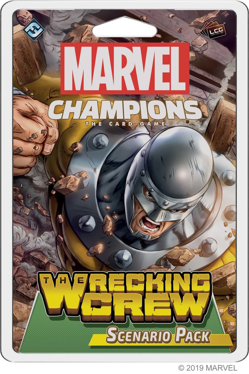 Marvel Champions LCG - Scenario Pack The Wrecking Crew