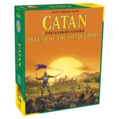 Catan - Cities & Knights Scenario - Legend of the Conquerors