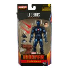 Marvel Legends - Iron Man - Stealth Iron Man Action Figure (BAF Ursa Major)