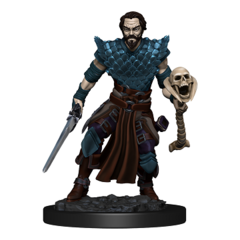 D&D Icons of the Realms - Premium Mini - Human Male Warlock