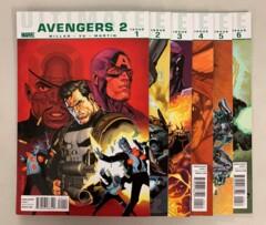 Ultimate Avengers 2 (Marvel 2010) #1-6 Set Mark Millar 1 2 3 4 5 6 (9.0+)