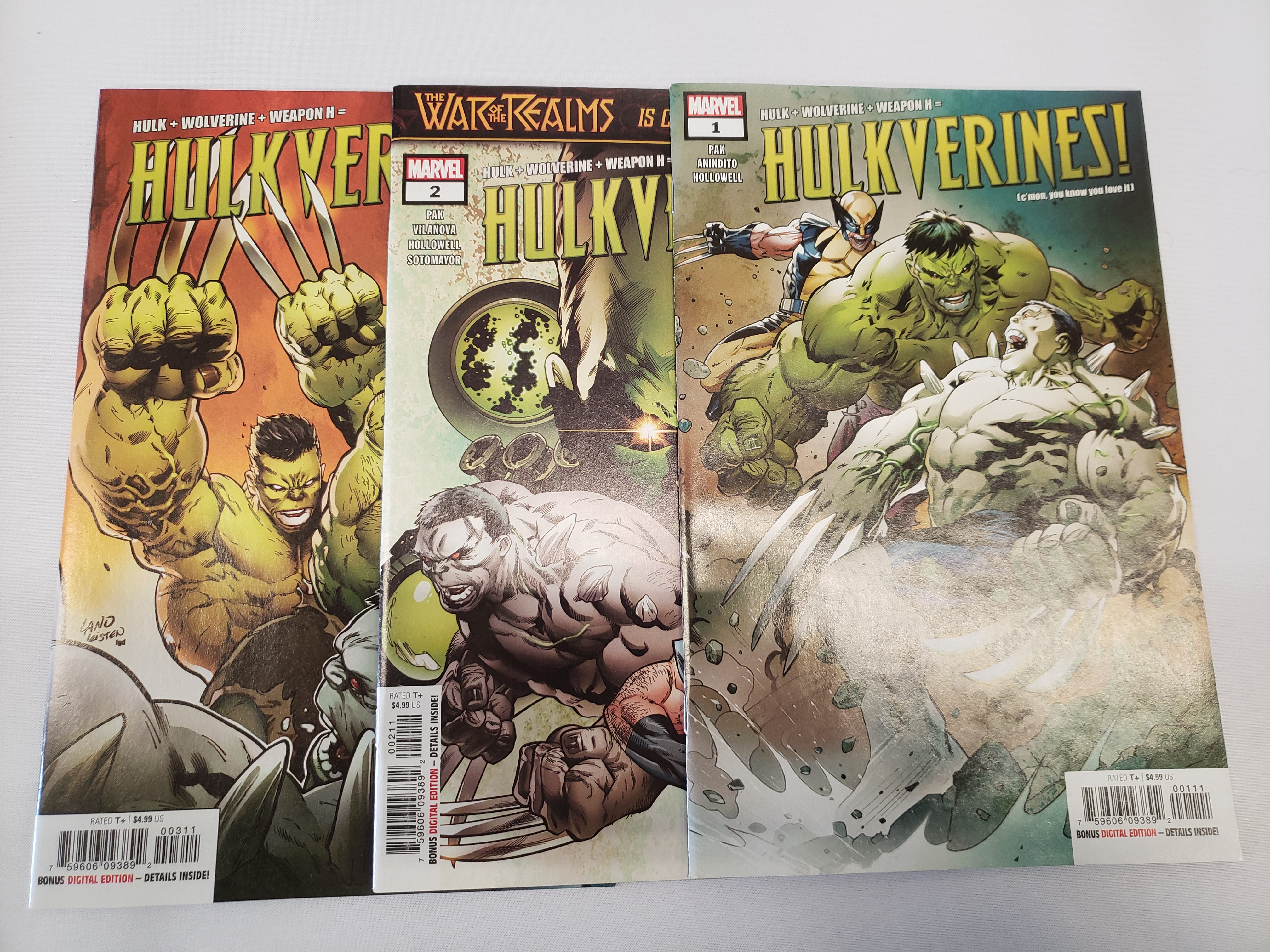 Hulkverines (2019) #1-3 (9.2)