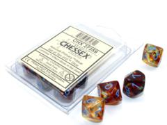 Chessex - Nebula Primary/Blue Luminary 10D10 - CHX27359