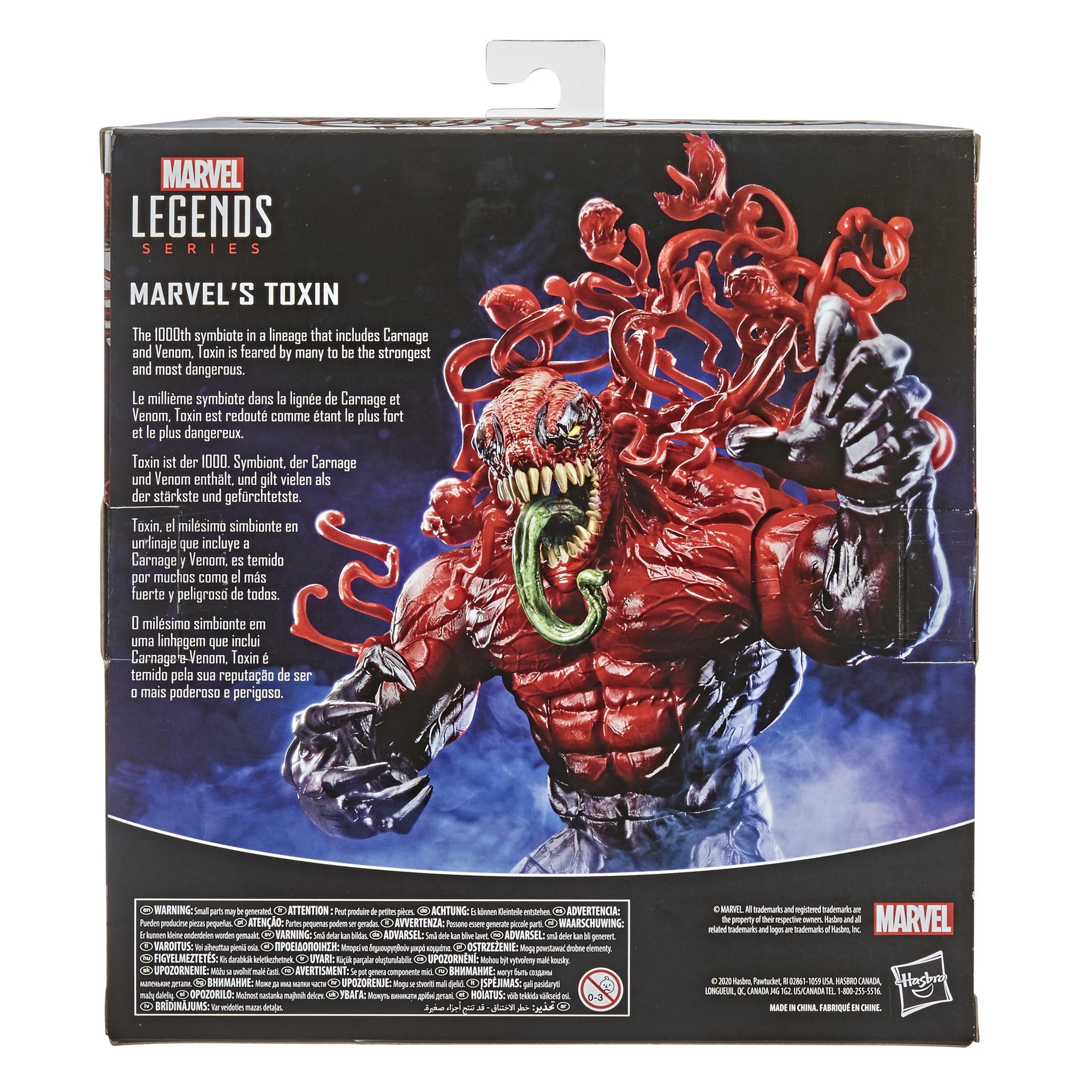Marvel Legends - Venom - Toxin Deluxe Action Figure
