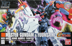 Gundam HG Future Century - Master Gundam & Fuunsaiki (#128)