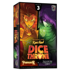 Dice Throne Season 1 Rerolled: Pyromancer vs Shadow Thief