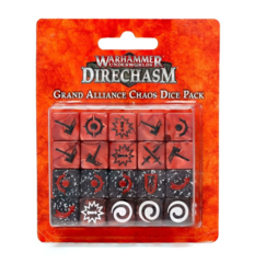 Warhammer Underworlds - Direchasm Grand Alliance Chaos Dice Pack