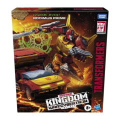 Transformers Generations War for Cybertron: Kingdom - Commander Rodimus Prime