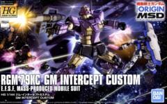 Gundam HG The Origin - RGM-79KC GM Intercept Custom #023