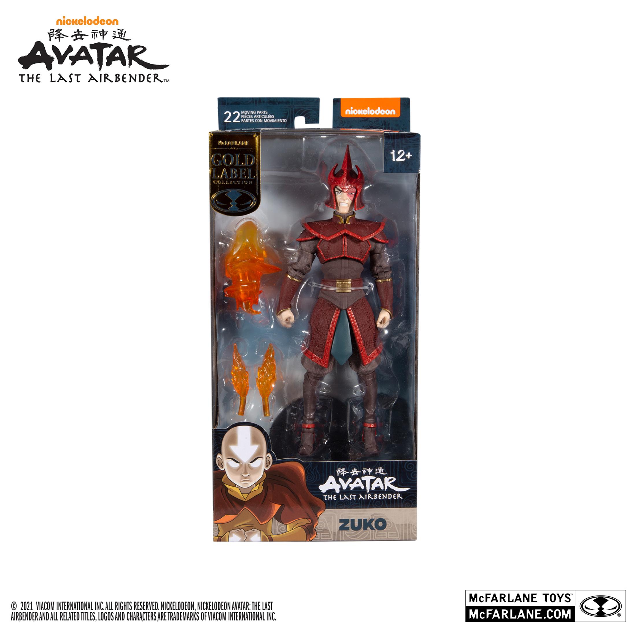 Avatar: The Last Airbender - Helmeted Zuko 7 Action Figure