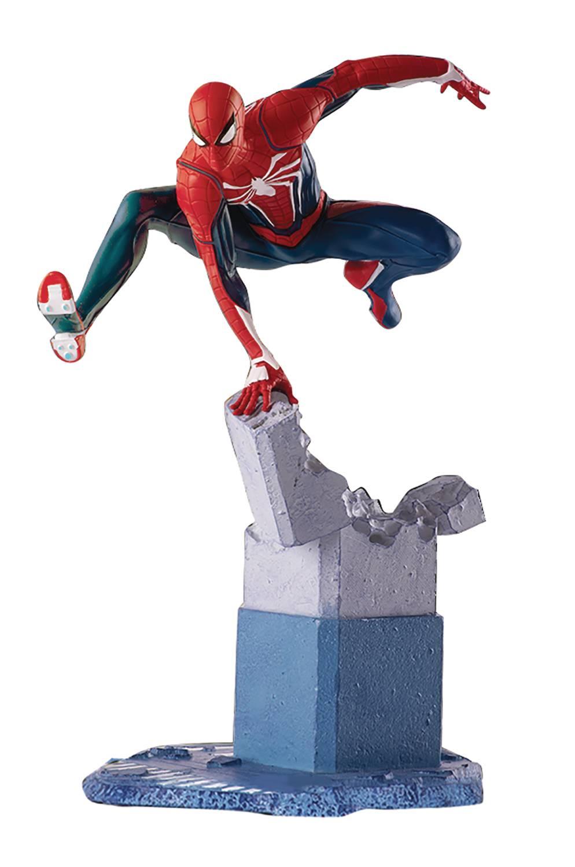 Marvel Gamerverse Advanced Suit Spider-Man 1/12 Diorama PVC Statue