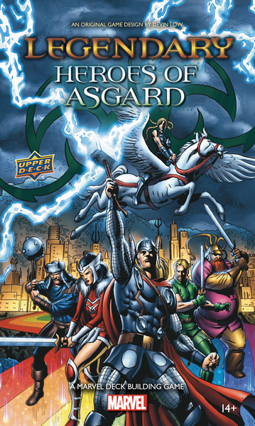 Legendary: A Marvel DBG - Heroes of Asgard Expansion