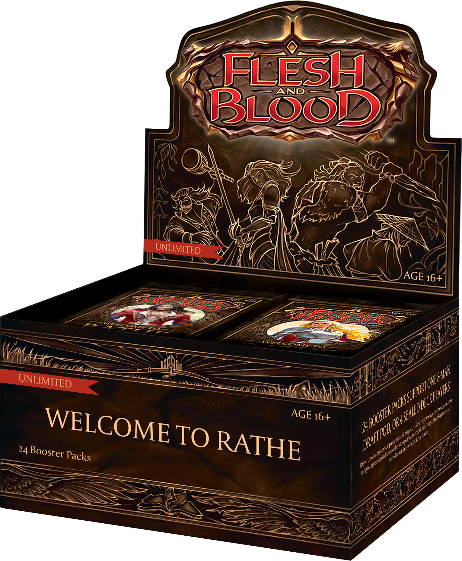 Flesh and Blood TCG - Welcome to Rathe (Unlimited) Booster Box (no store credit)
