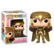 Pop! Heroes - Wonder Woman 84 - Wonder Woman Golden Armor (Funko #323)