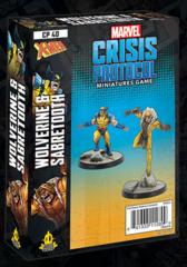 Marvel: Crisis Protocol - Wolverine & Sabertooth