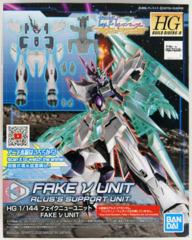 Gundam HG Build Divers R - Fake Nu Unit - Alus's Support Unit 1/144