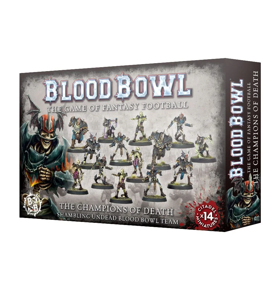Blood Bowl - The Champions of Death Shambling Undead Blood Bowl Team