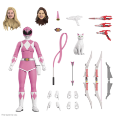 Mighty Morphin Power Rangers Ultimates! - Pink Ranger Action Figure