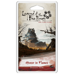 L5R Legend of the Five Rings LCG - Honor in Flames Dynasty Pack