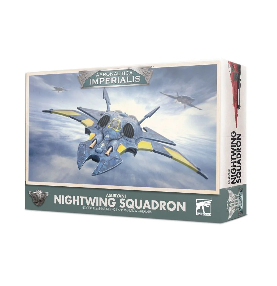 Aeronautica Imperialis - Asuryani Nightwing Squadron
