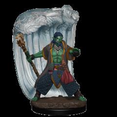 D&D Icons of the Realms - Premium Mini - Water Genasi Male Druid