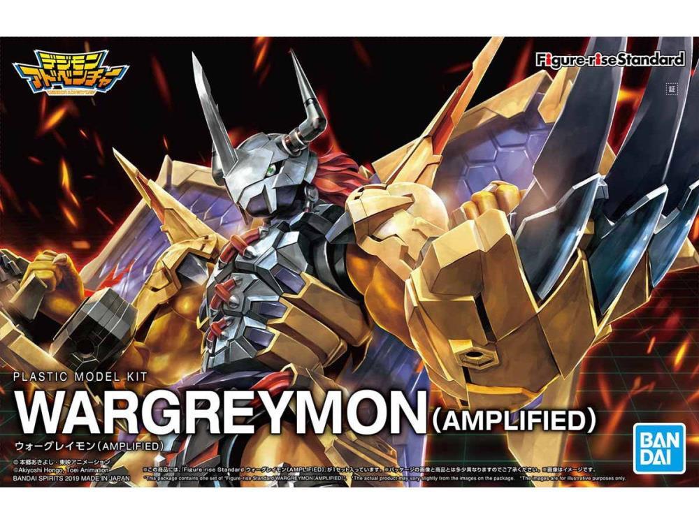 Digimon Figure-Rise Standard Amplified - Wargreymon Model Kit