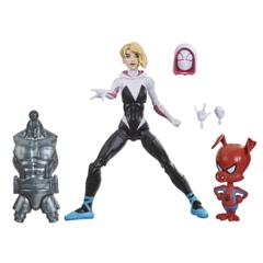 Marvel Legends - Spider-Man Into The Spider-Verse - Gwen Stacy & Spider-Ham Action Figure (Stilt Man BAF)