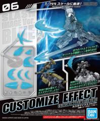 Gundam - Customize Effect 06 - Slash Image Blue (1/144)