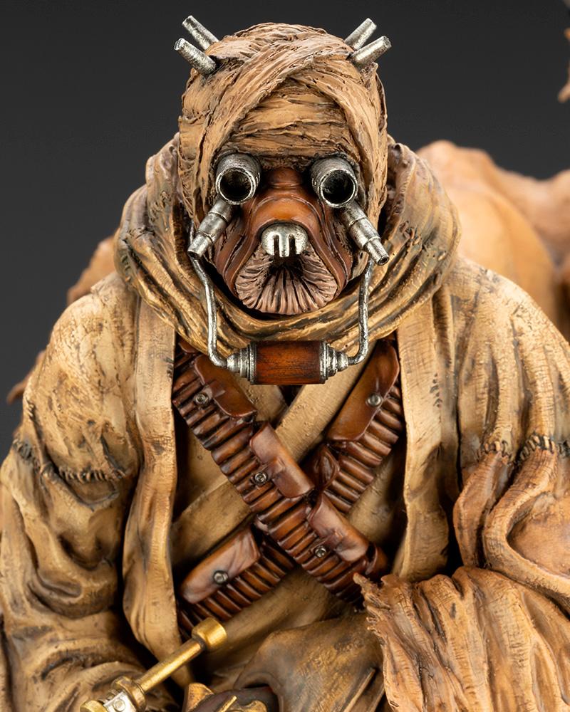 Star Wars Kotobukiya - A New Hope - Tusken Raider Barbaric Desert Tribe ArtFX+ Statue