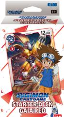 Digimon TCG Starter Deck - Gaia Red