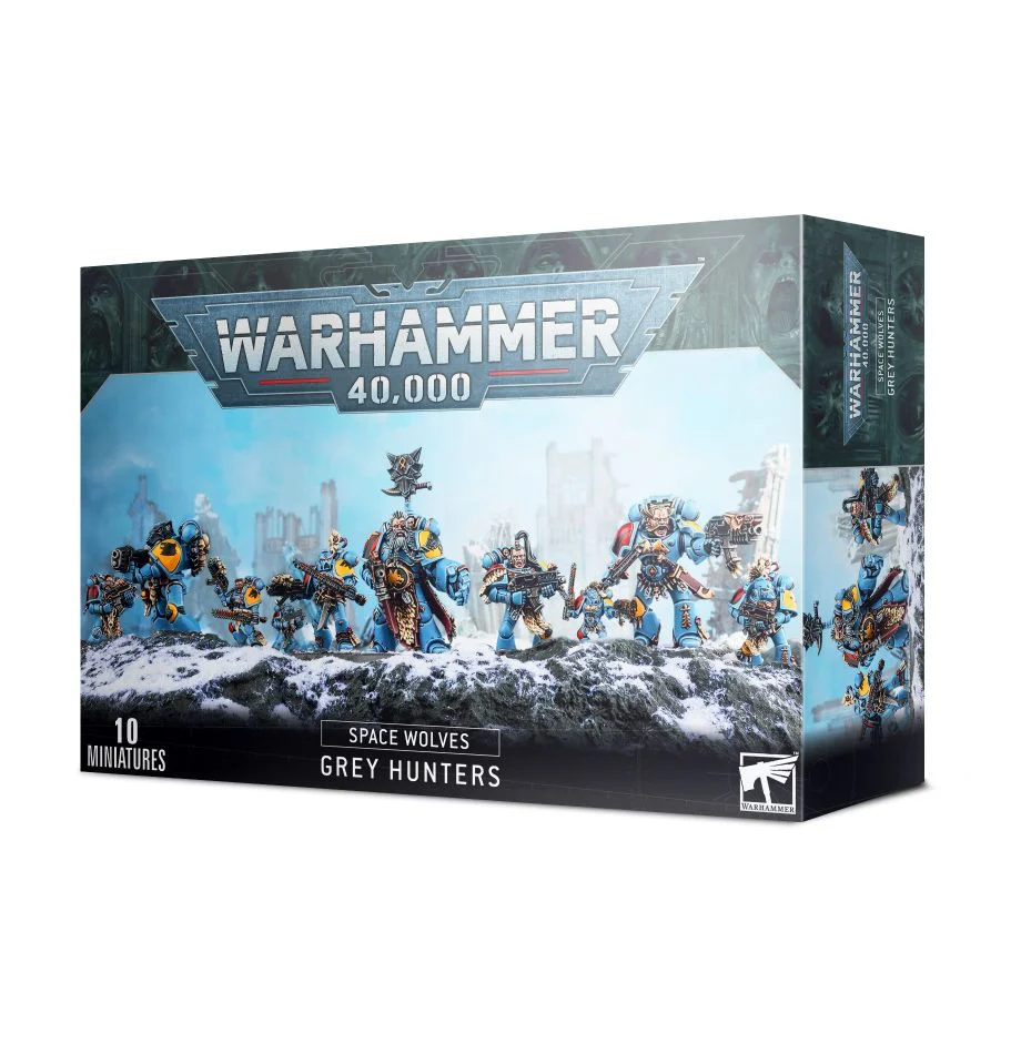 Space Wolves - Grey Hunters