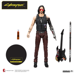 Cyberpunk 2077 - Johnny Silverhand 7in Action Figure