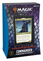 Adventures in the Forgotten Realms Commander Deck: Dungeons of Death (No store credit or pay in store)