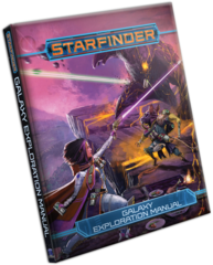 Starfinder - Galaxy Exploration Manual Hard Cover